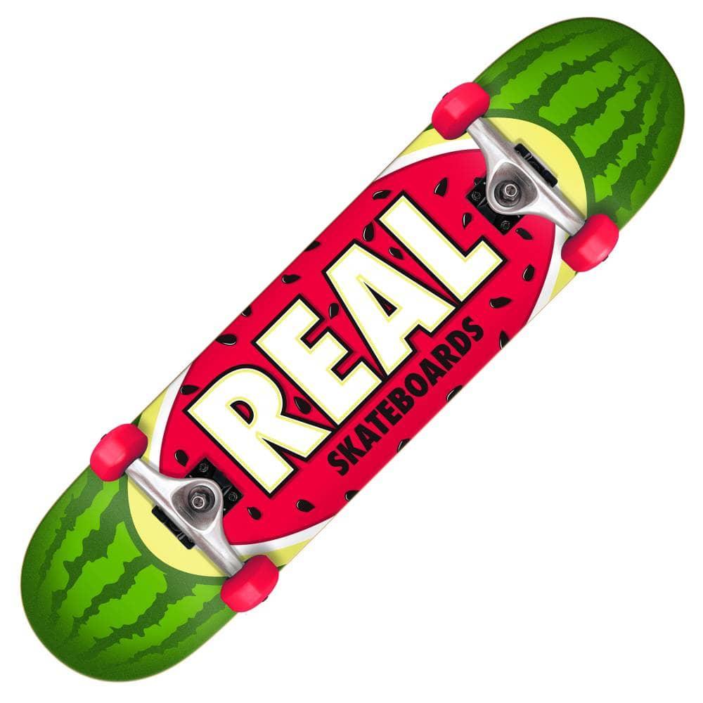 2ece1ff8a Real Skateboards Real Skateboards Team Watermelon Large Complete Skateboard  8.0