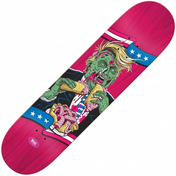 Real Skateboards The Running Dead Trump/Republican 8.25""