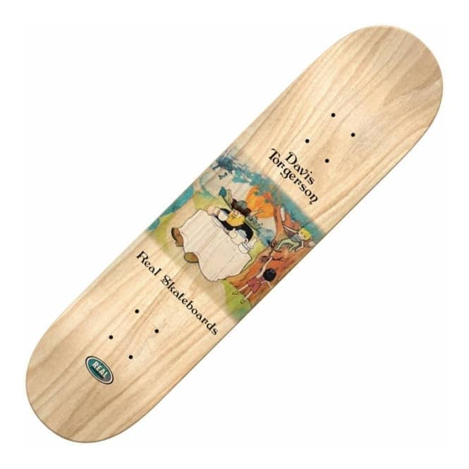 Real Skateboards Torgerson Tea Time Skateboard Deck 8.25