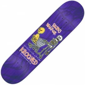 Walker Odd Couple Skateboard Deck 8.06