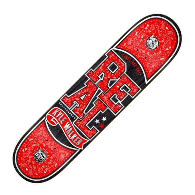 Real Skateboards Walker Paisley Low Pro II Skateboard Deck 8.06