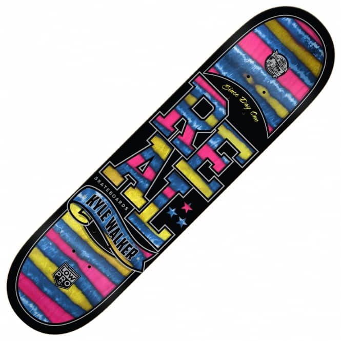 Real Skateboards Walker Spectrum Low Pro II Skateboard Deck 8.06