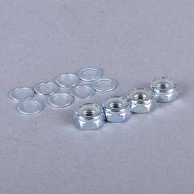 Replacement Skateboard Axle Nuts And Washers