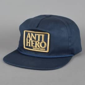 Reserve Patch Snapback Cap - Navy/Gold