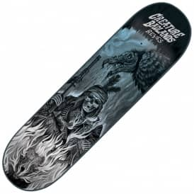 Reyes Back To The Badlands Skateboard Deck 8.0