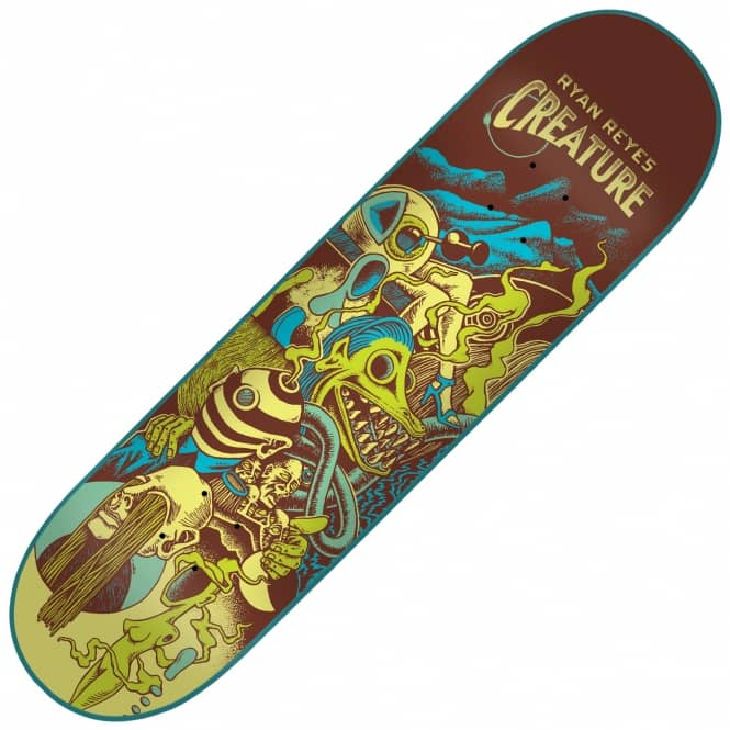 Creature Skateboards Reyes Eclipse Skateboard Deck 8.0