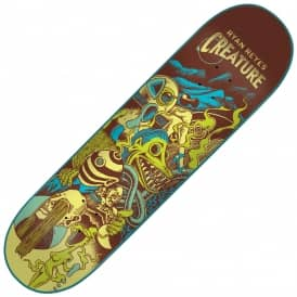 Reyes Eclipse Skateboard Deck 8.0
