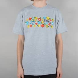 Reynolds By Gonz Skate T-Shirt - Grey