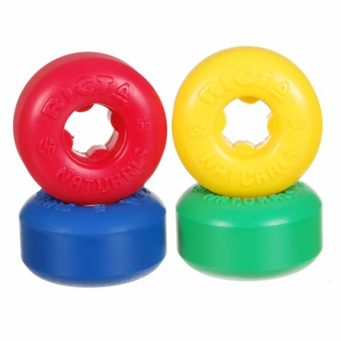 Ricta Wheels Ricta Naturals Mixup Skateboards Wheels 52mm