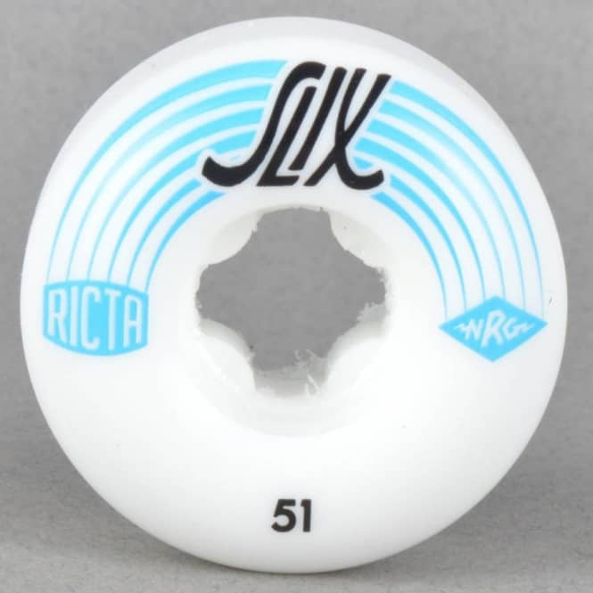 Ricta Wheels SLIX 81B Skateboard Wheels 51mm