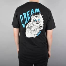 Rip N Dip CREAM Skate T-Shirt - Black
