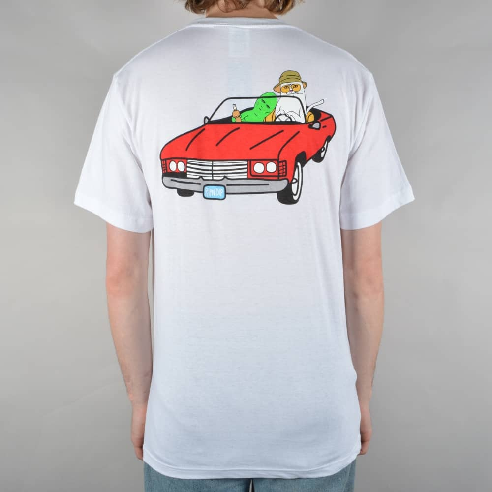 Fear And Loathing Skate T-Shirt - White
