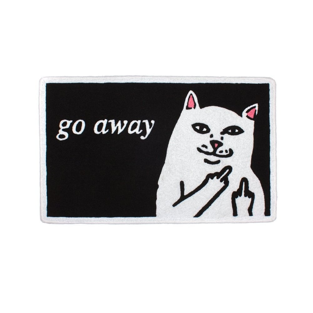 Cat Doormat Uk Go Away Cat Doormat Fashion Brand Carpet
