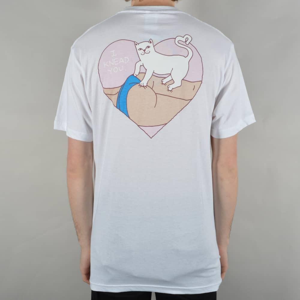 ecdde2cfcf5b Rip N Dip I Knead You Pocket T-Shirt - White - SKATE CLOTHING from ...