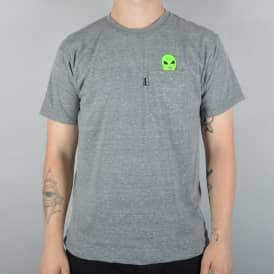 Rip N Dip Lord Alien Pocket T-Shirt - Grey