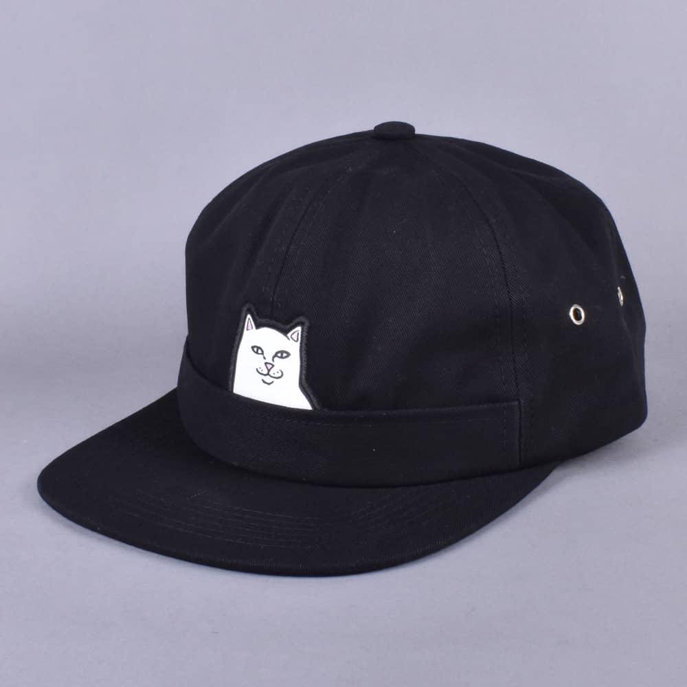 56f0b04d75b Rip N Dip Lord Nermal Pocket Cap - Black - SKATE CLOTHING from ...