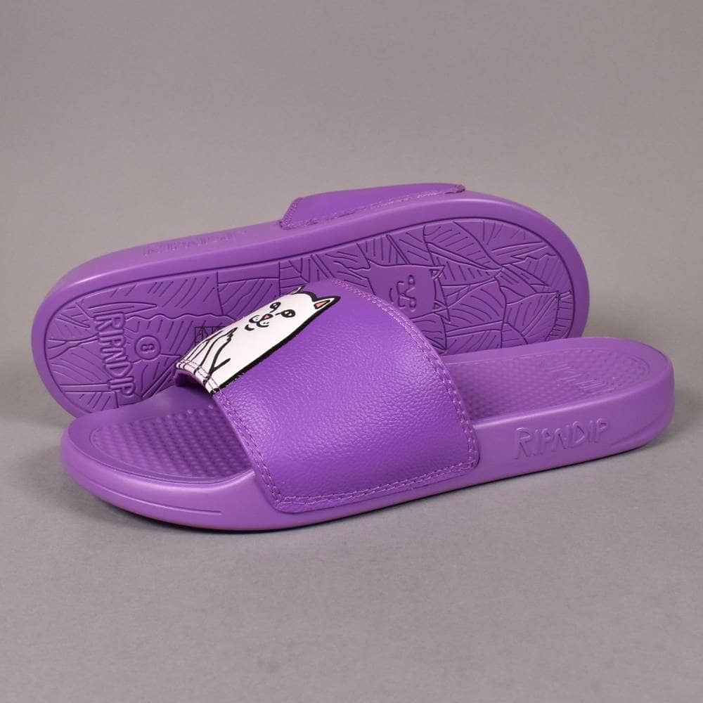 31a339f739e Rip N Dip Lord Nermal Slides - Purple - SKATE SHOES from Native ...