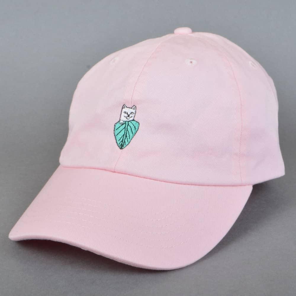 Rip N Dip Nermal Leaf Dad Cap - Pink - SKATE CLOTHING from Native ... 9f1ea2c9eafa