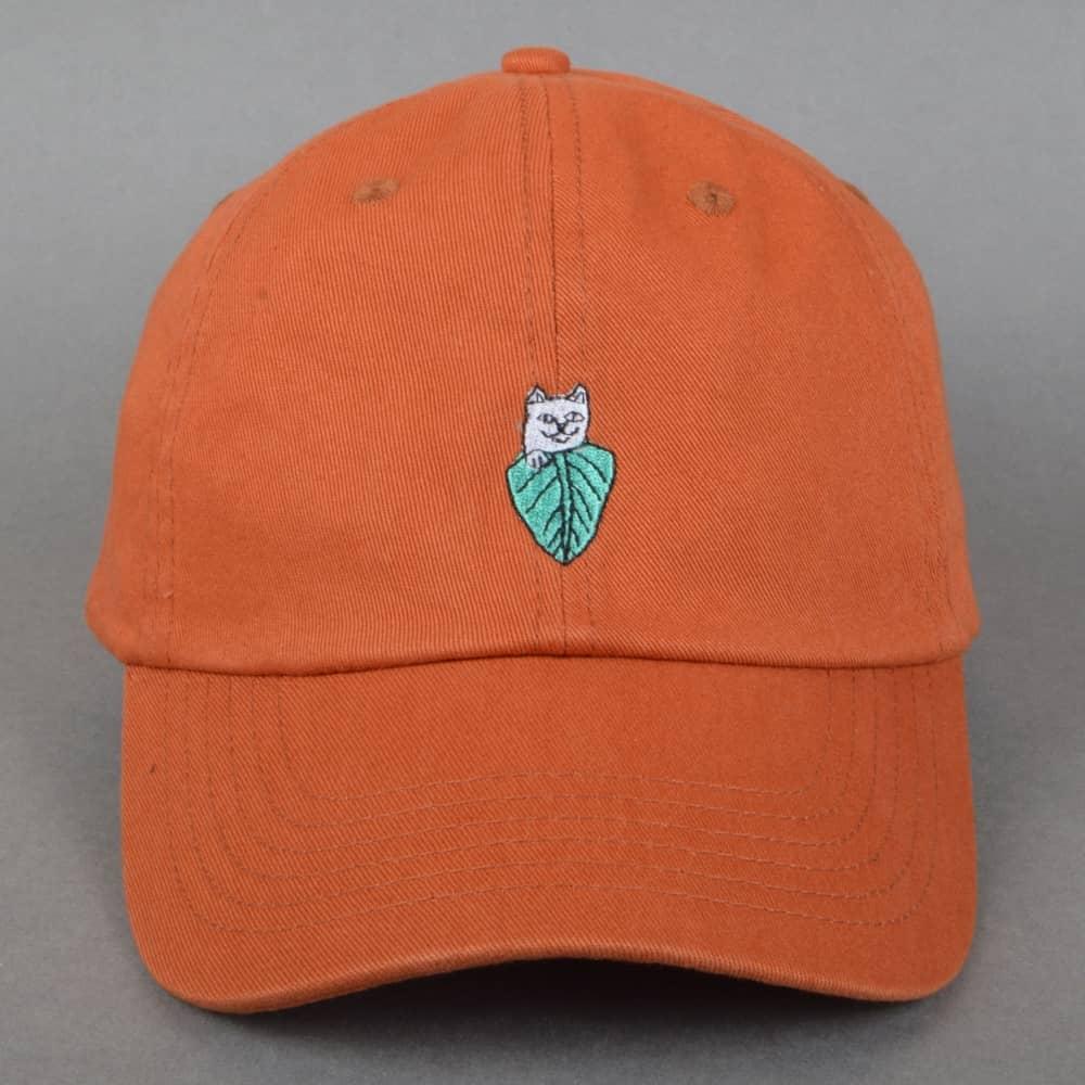 Rip N Dip Nermal Leaf Dad Cap - Texas Orange - SKATE CLOTHING from ... a0980d143010