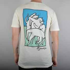 Rip N Dip Nermal Marc T-Shirt - Natural