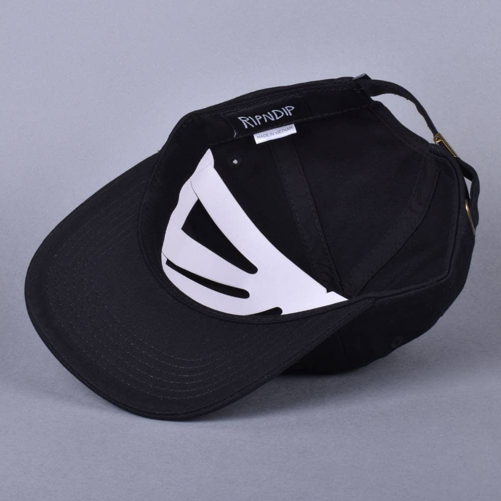 6a029ad0b68 Rip N Dip Nermcasso Cap - Black - SKATE CLOTHING from Native Skate ...