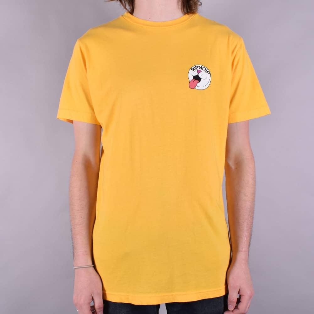 0bf87c7ef02c Rip N Dip Pill Skate T-Shirt - Primrose Yellow - SKATE CLOTHING from ...