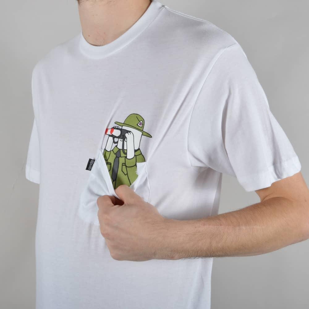 fc0310cd Rip N Dip Pussy Patrol T-Shirt - White - SKATE CLOTHING from Native ...