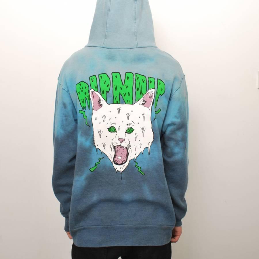 Dip dye hoodie