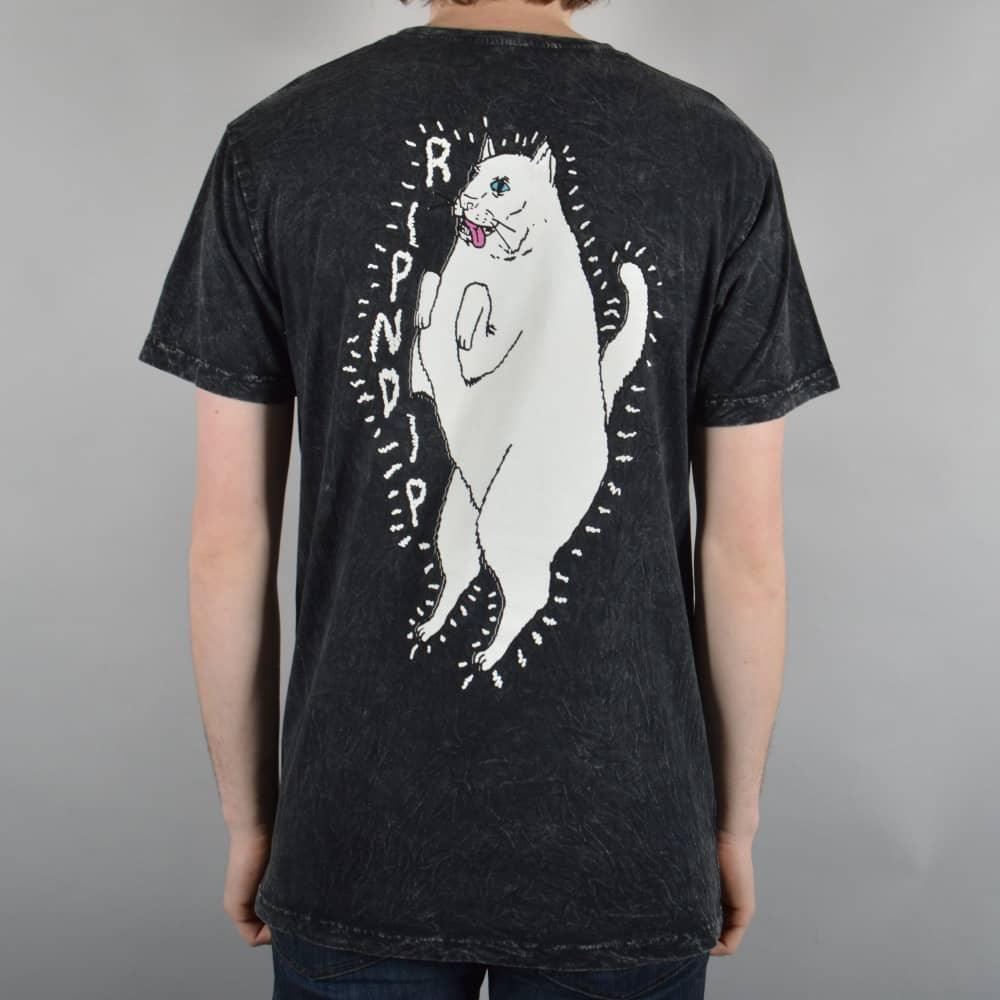 Rip N Dip Wired Nermal T-Shirt - Black - SKATE CLOTHING from Native ...