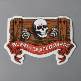 Ripper In Stocks Skateboard Sticker - 4.5