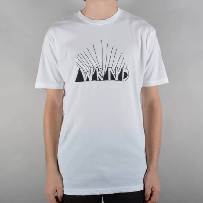 WKND Skateboards Rise Skate T-Shirt - White