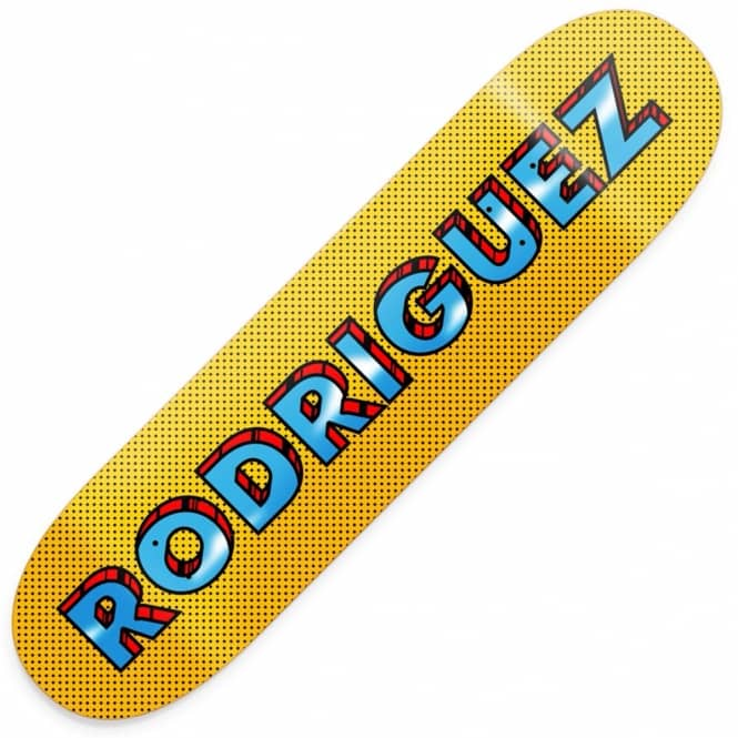Primitive Skateboarding Rodriguez Pop Art Skateboard Deck 8.125