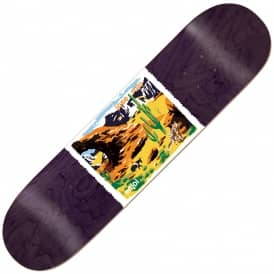 Enjoi Skateboards Rojo Dog Poopers Wild West Skateboard Deck 8.25''