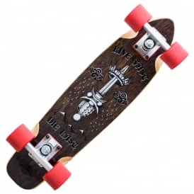 Rose Live Fast Wooden Cruiser Skateboard 6.0
