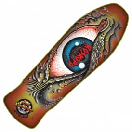 Roskopp Eye Sunburst Reissue Skateboard Deck - 10.0