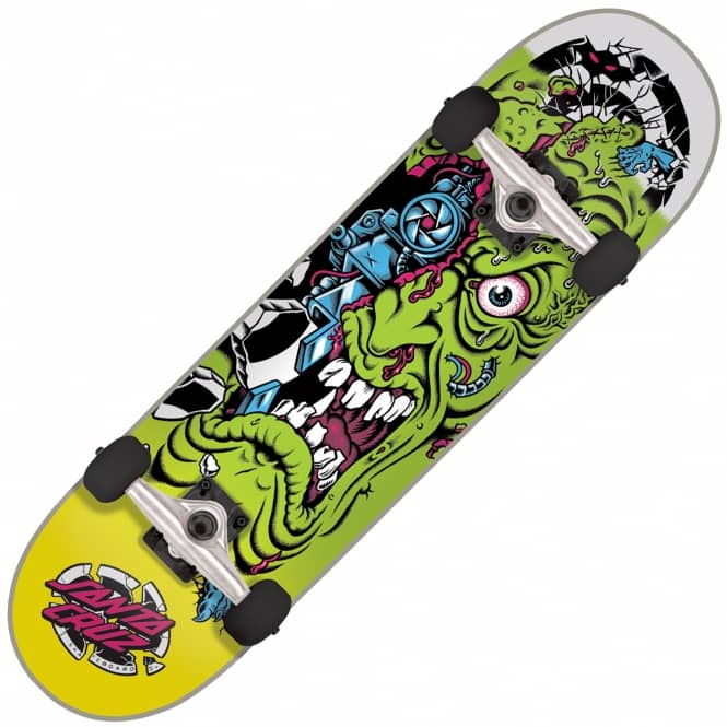 "Santa Cruz Skateboards Roskopp Mashup Complete Skateboard 7.75"" (Purple)"