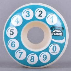 Rotary Standard Teal Skateboard Wheels 52mm