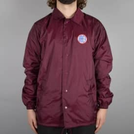ROTC Coach Jacket - Maroon