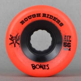 Rough Rider ATF Red Skateboard Wheels 56mm