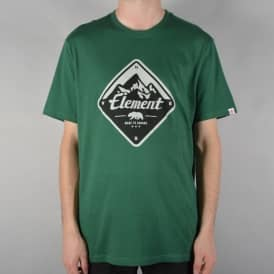 Route T-Shirt - Hunter Green