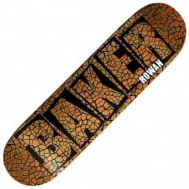 Rowan Brand Name Dither Skateboard Deck 8.25