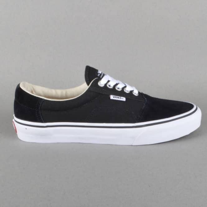 6a91745ec7 Vans Rowley Solos Skate Shoes - Black White - SKATE SHOES from ...