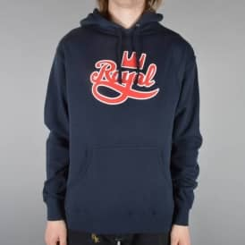 Royal Trucks Outline Pullover Hood - Navy