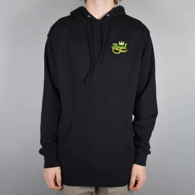 Royal Trucks Rip Pullver Hoodie - Black