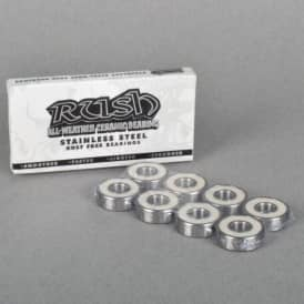 Rush Bearings Rush All Weather Ceramic Skateboard Bearings