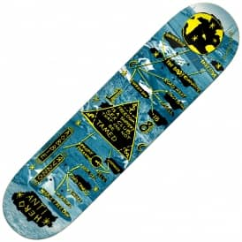 Russo Star Charts (Full Shape) Skateboard Deck 8.5
