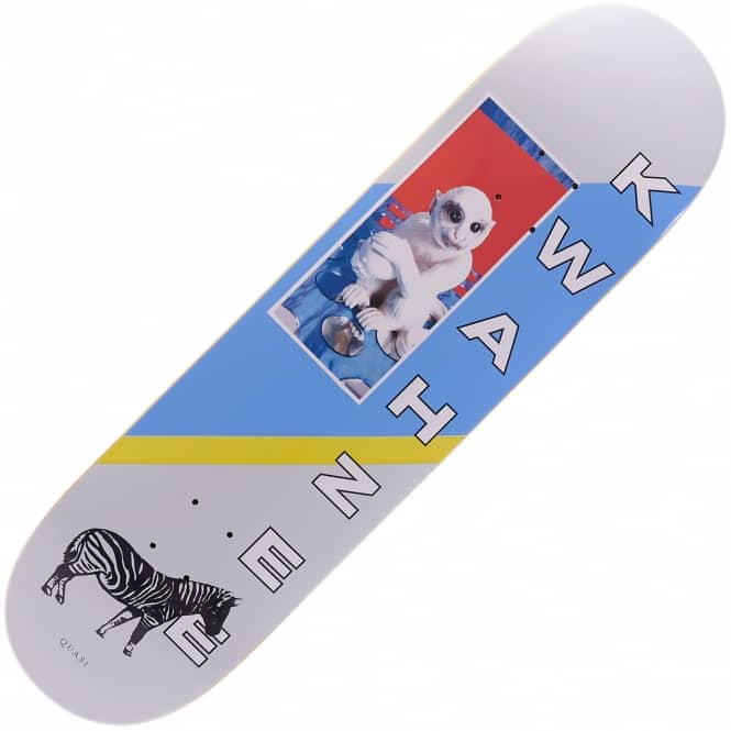Quasi Skateboards Safari 3 White Skateboard Deck 8.625