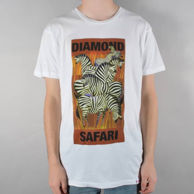 Diamond Supply Co. Safari T-Shirt - White