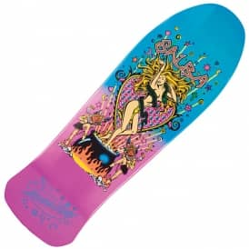 Salba Witch Doctor Metallic Fade 30th Anniversary Reissue Skateboard Deck 10.4