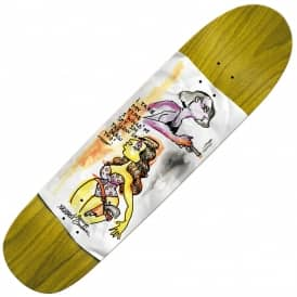 Sandoval High Noon (Custom Shape) Skateboard Deck 8.5